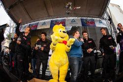 Haribo Racing Team gives away candies