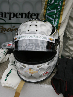 Helmet of Ed Carpenter, Ed Carpenter Racing Chevrolet