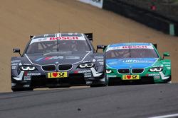 Augusto Farfus, BMW Team RBM BMW M3 DTM en Joey Hand, BMW Team RBM BMW M3 DTM