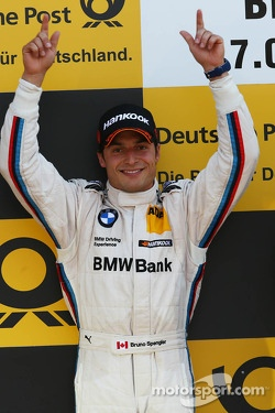 Podium: second place Bruno Spengler, BMW Team Schnitzer BMW M3 DTM