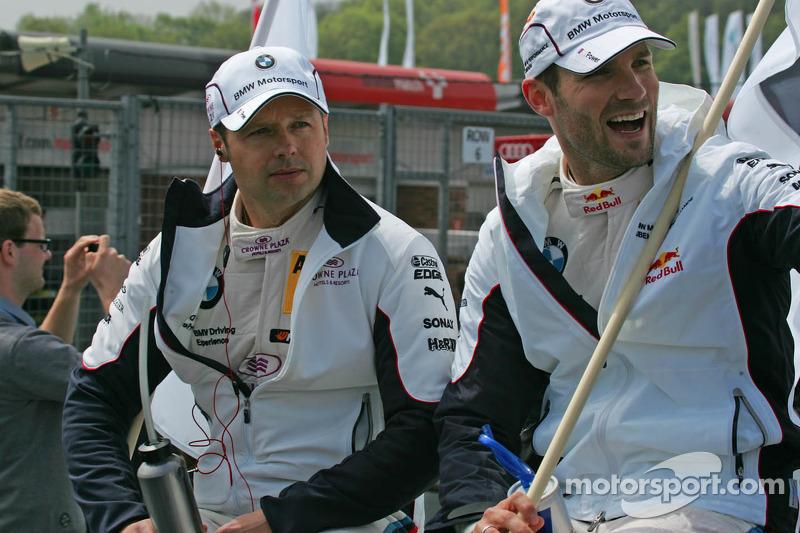 Andy Priaulx, BMW Team RMG BMW M3 DTM Daniel Juncadella, RSC Mücke Motorsport, DTM Mercedes AMG C-Coupe