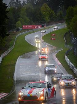 #213 Toyota Swiss Racing Team Toyota GT86 (V3): Lorenz Frey, Peter Wyss, Mark Benz, Toni Büeler