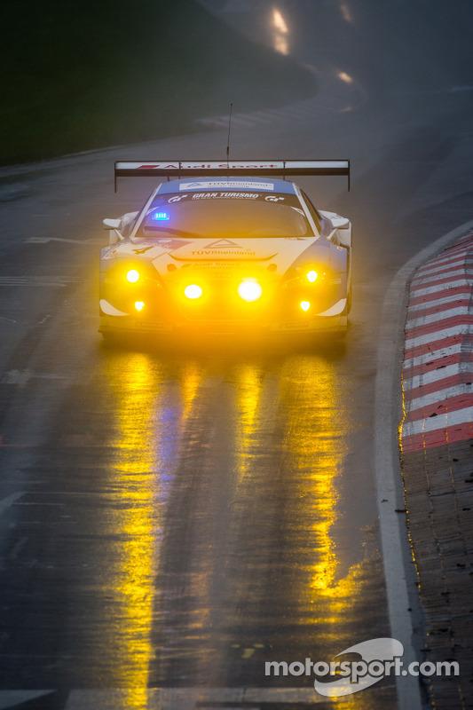 #4 Phoenix Racing Audi R8 LMS ultra (SP9): Michael Ammermüller, Frank Stippler, Ferdinand Stuck, Johannes Stuck