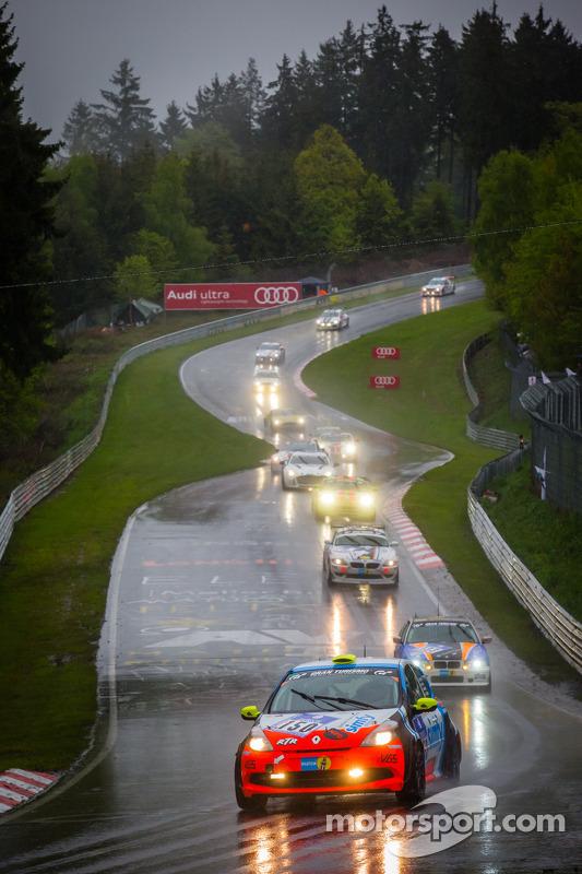 #150 Raceunion Teichmann Racing Renault Clio (SP3): Segej Matveev, Joachim Steidel