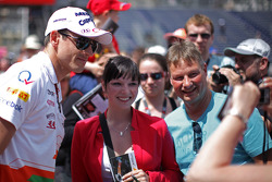 Adrian Sutil, Sahara Force India F1 met fans
