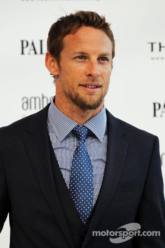 Jenson Button, McLaren na Amber Lounge Fashion Show