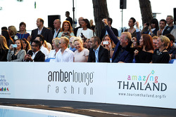 Heikki Kovalainen, no Lançamento de Amber Fashion Show