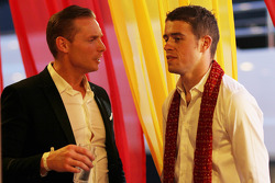 (L to R): Jordy Cobelens, CEO TW Steel with Paul di Resta, Sahara Force India F1 at the Signature F1 Monaco Party
