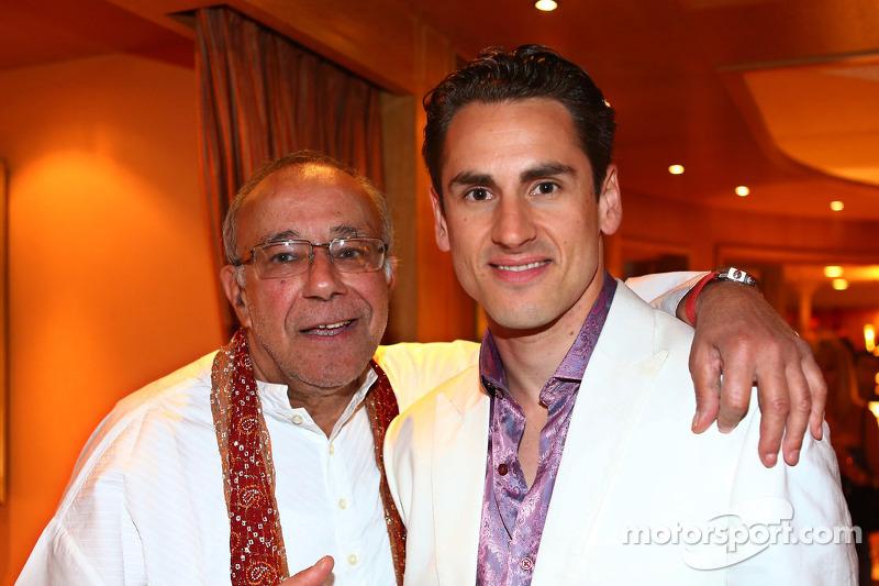 Adrian Sutil, Sahara Force India F1 bij de Signature F1 Monaco Party