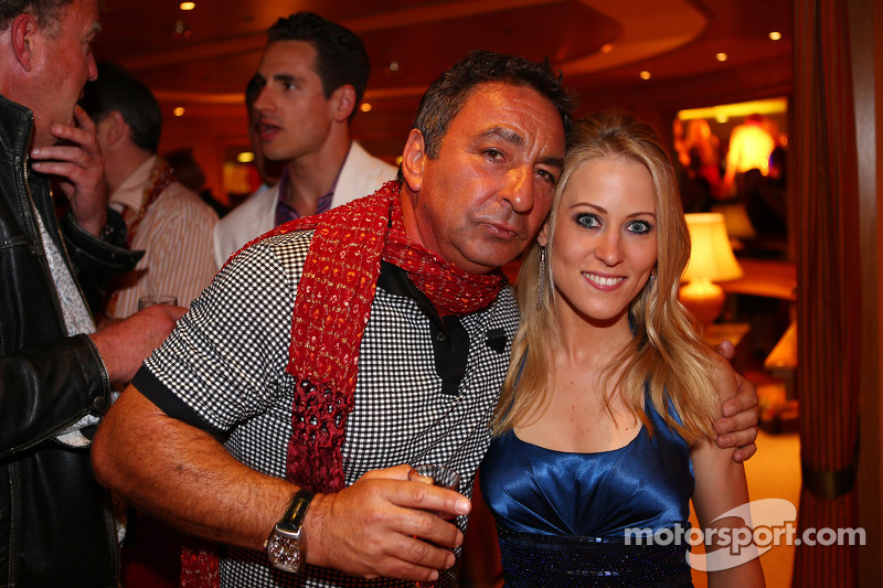 Jennifer Becks, girlfriend of Adrian Sutil, Sahara Force India F1, at the Signature F1 Monaco Party