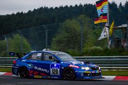 #120 Subaru Tecnica International Subaru GVB (SP3T): Toshihiro Yoshida, Kota Sasaki, Marcel Lasée, Carlo van Dam