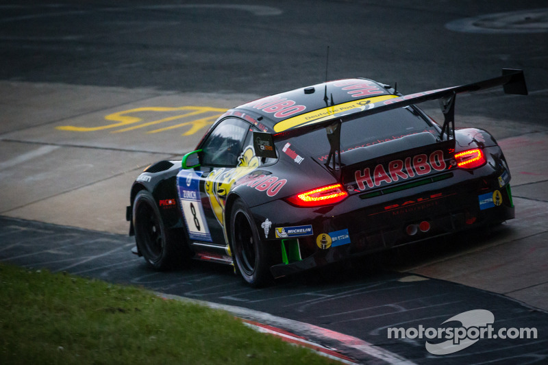 #8 Haribo Racing Team Porsche 911 GT3 R (SP9): Richard Westbrook, Emmanuel Collard, Mike Stursberg,