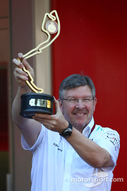 Ross Brawn, Mercedes AMG F1 Director del equipo