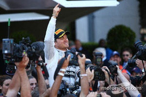 1st place Nico Rosberg, Mercedes AMG F1