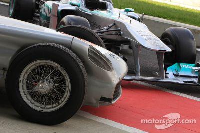 Evento especial de Stirling Moss y Lewis Hamilton