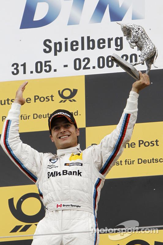 O vencedor Bruno Spengler, BMW Team Schnitzer BMW M3 DTM