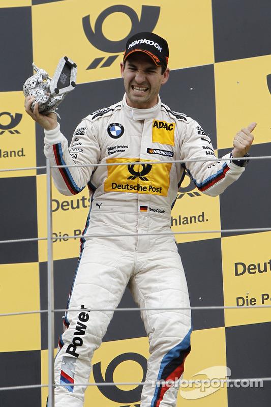 O terceiro colocado Timo Glock, BMW Team MTEK BMW M3 DTM