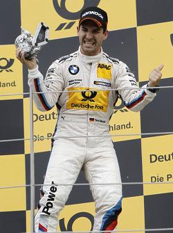 Third place Timo Glock, BMW Team MTEK BMW M3 DTM