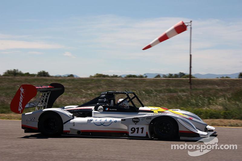 Romain Dumas teste le prototype Norma