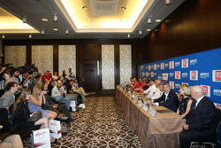 Press conference, Marcello Lotti, WTCC General Manager