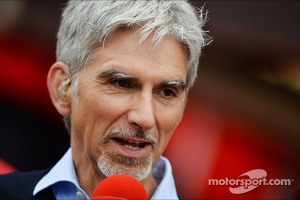 Damon Hill, Sky Sports Presenter. - www.xpbimages.com, EMail: requests@xpbimages.com - copy of publication required for printed pictures. Every used picture is fee-liable. © Copyright: Photo4 / XPB Images