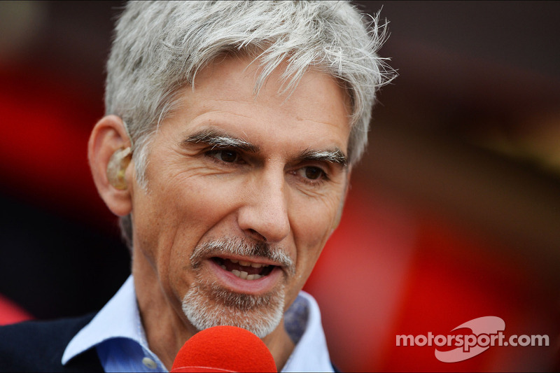 Damon Hill, Sky Sports-presentator. - www.xpbimages.com, EMail: requests@xpbimages.com - copy of publication required for printed pictures. Every used picture is fee-liable. © Copyright: Photo4 / XPB Images