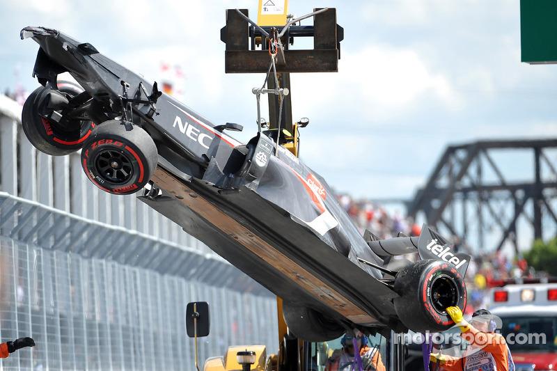Естебан Гутьєррес: Гран-прі Канади 2013 в Монреалі