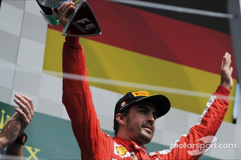 Fernando Alonso, 2º en el GP de Gran Bretaña