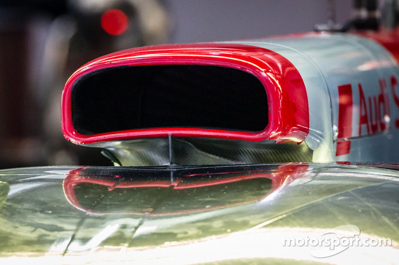 #1 Audi Sport Team Joest Audi R18 e-tron quattro detail