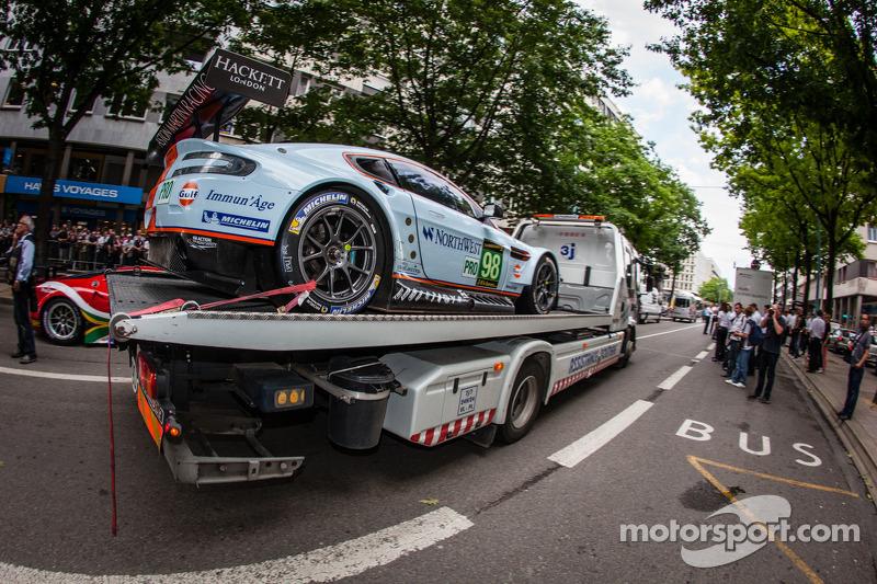 #98 Aston Martin Racing Aston Martin Vantage GTE