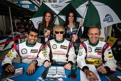 Karun Chandhok, Brendon Hartley, Mark Patterson