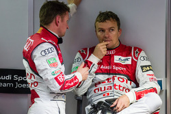 Allan McNish and Marcel Fässler