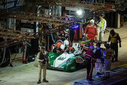 Pit stop #41 Greaves Motorsport Caterham Motorsport Nissan: Alexander Rossi, Eric Lux, Tom Kimber-Smith