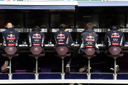 Red Bull Racing pit gantry