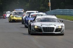 #24 Audi Sport Customer Racing Audi R8 Grand-Am: Filipe Albuquerque, Edoardo Mortara, Dion von Moltke