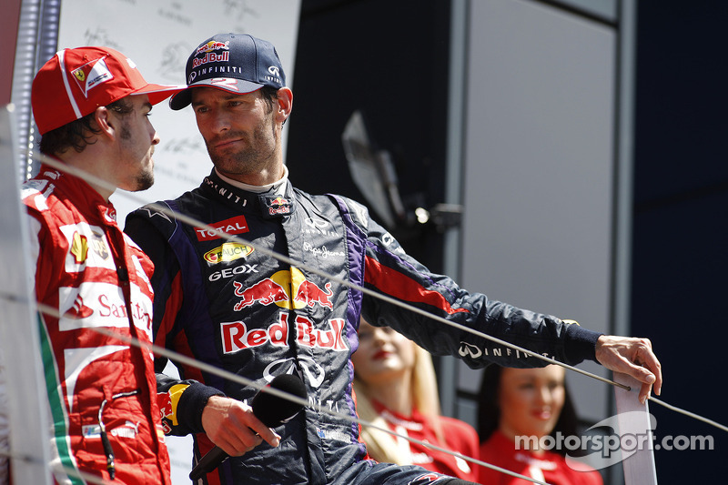 Fernando Alonso, 3º en el GP de Gran Bretaña 2013