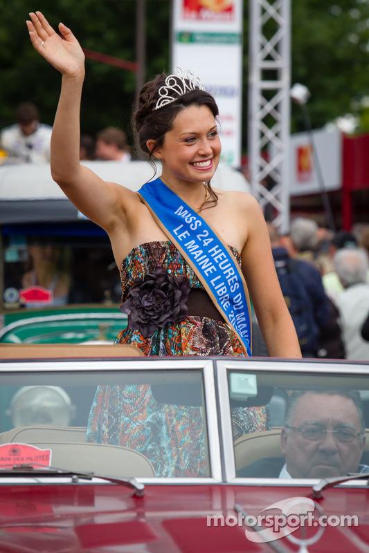 Miss 24 Horas de Le Mans 2013