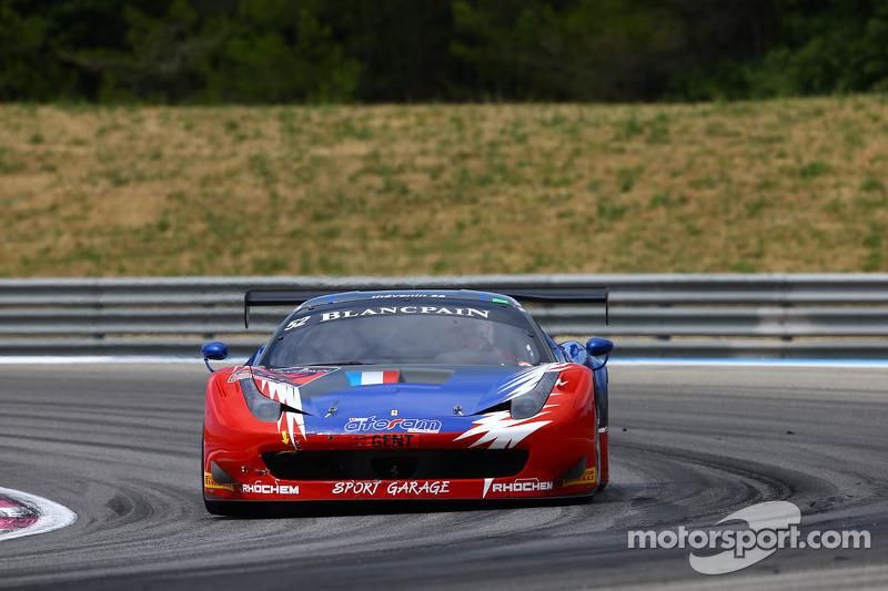 52 Sport Garage: Thierry Stepec, Lionel Comole, Thierry Prignaud, Ferrari 458 Italia