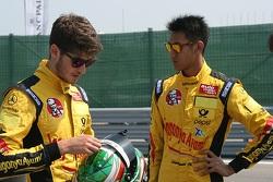 Sean Gelael e Antonio Giovinazzi
