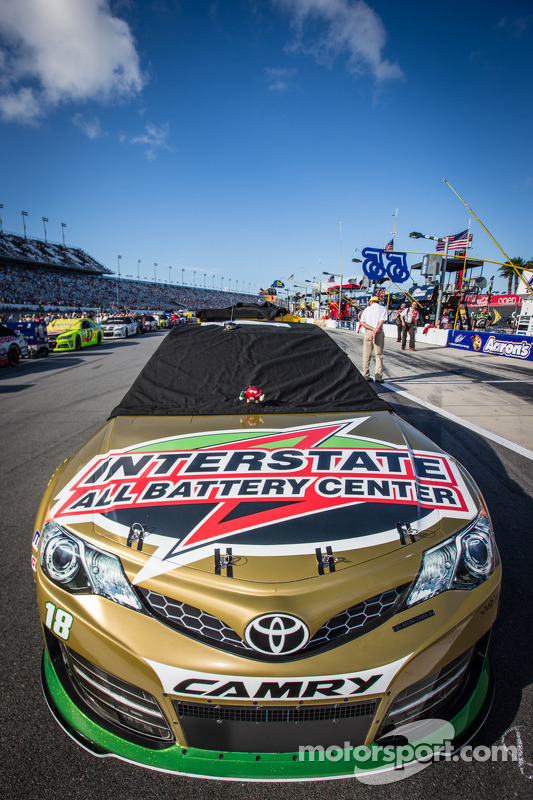 Pole carro vencedor de Kyle Busch, Joe Gibbs Racing Toyota