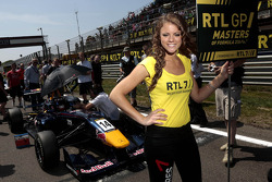 Grid girl of Tom Blomqvist