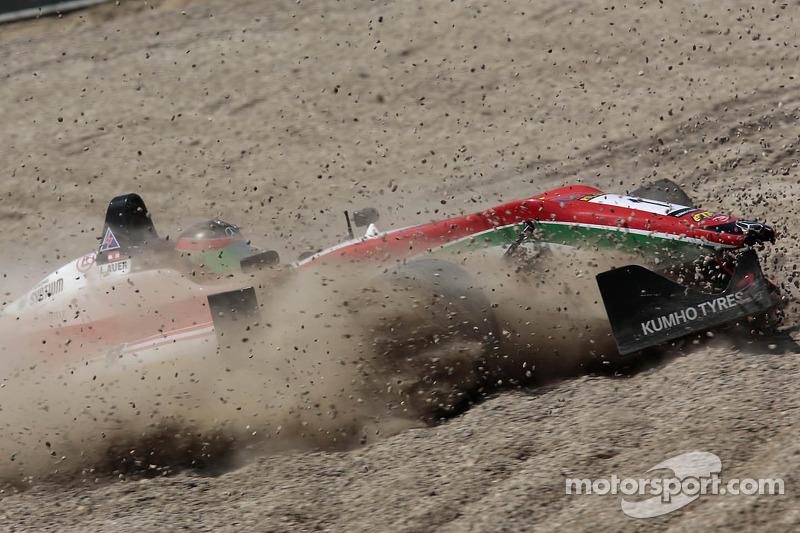 Crash van Lucas Auer