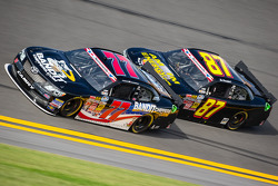 Parker Kligerman and Joe Nemechek