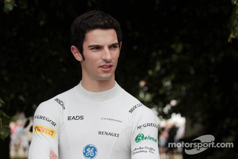 Alexander Rossi, Testrijder Caterham F1