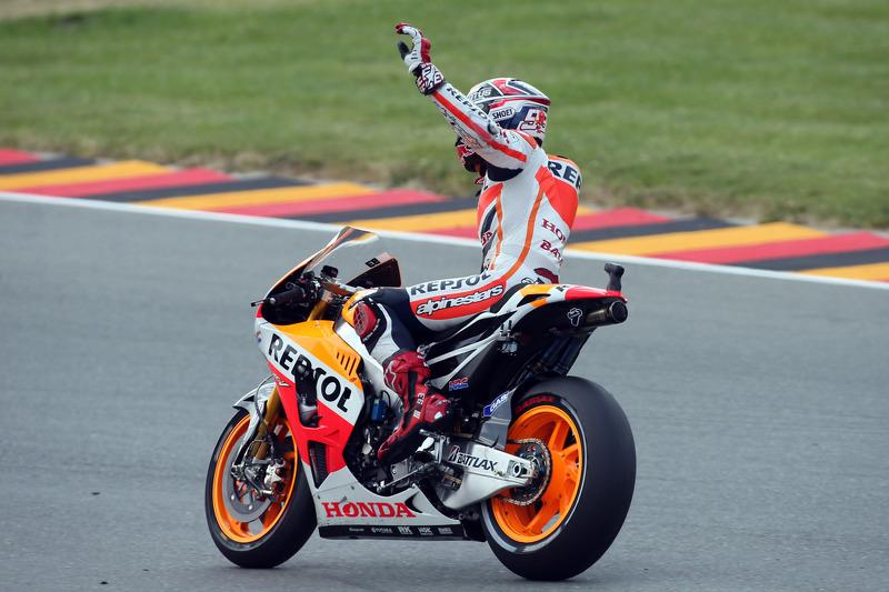 Ganador de la carrera Marc Márquez Repsol Honda team