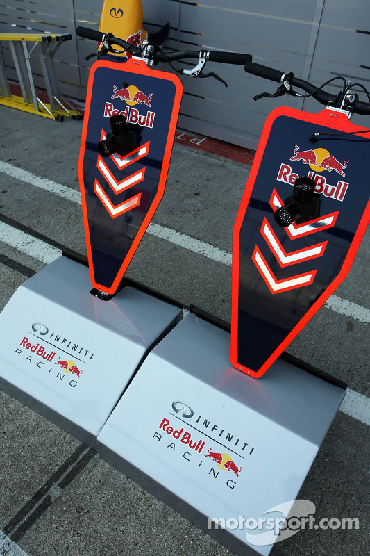 Red Bull Racing pit stop equipamento