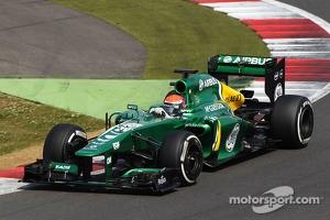 Alexander Rossi, Caterham CT03 Test Driver