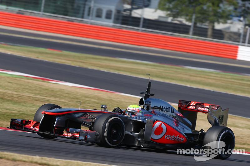 Oliver Turvey, McLaren McLaren MP4-28 piloto de testes