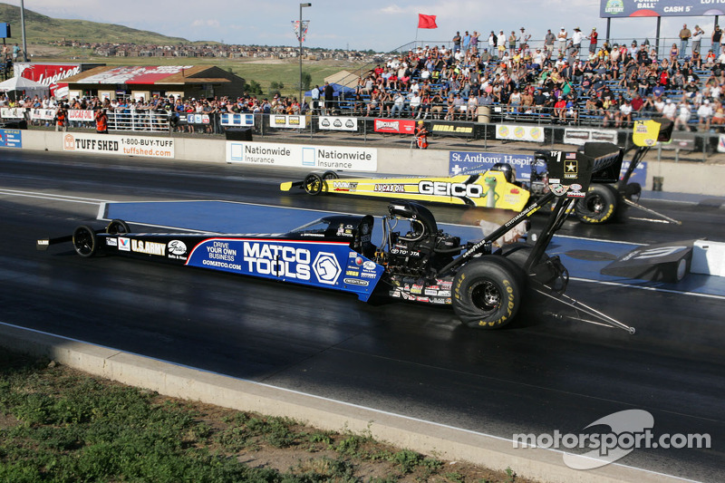 Antron Brown en Morgan Lucas