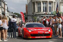 #44 Kessel Racing Ferrari 458 Italia: Cesar Ramos, Davide Rigon, Daniele Zampieri